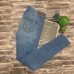 Hollister Stretch Distressed Skinny Jeans